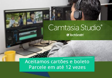 Captura e edição com o Camtasia Studio